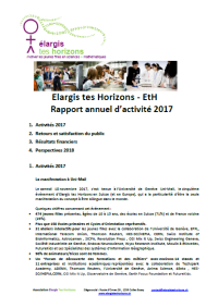 ETH Rapport activite 2017